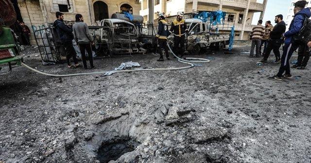 Esad rejiminin İdlib'e saldırısında iki sivil öldü