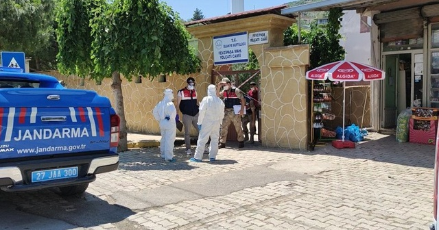 Gaziantep'te 14 ev karantinaya alındı
