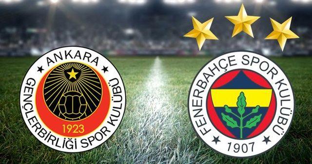 Fenerbahçe, deplasmanda Gençlerbirliği ile 1-1 berabere kaldı