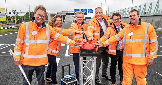 Hollanda'nın en uzun kara tüneli Rönesans imzası taşıyor
