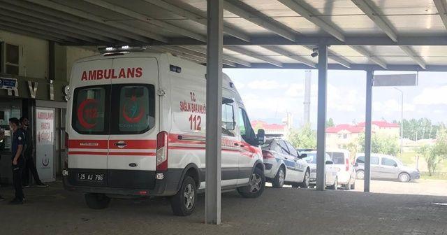 Horasan'da iki farklı köye yıldırım düştü: 1 ölü, 5 yaralı