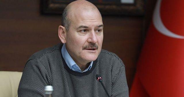 İçişleri Bakanı Soylu, Artvin'de 15 Temmuz şehidinin ailesini ziyaret etti