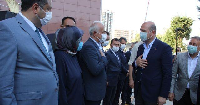 İçişleri Bakanı Soylu, güvenlik toplantısı için Mersin'e geldi