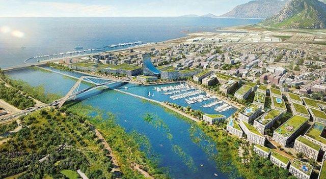 Kanal İstanbul'un çevresine üç kat sınırı
