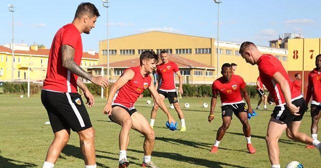 Kayserispor, Beşiktaş hazırlıklarını sürdürüyor