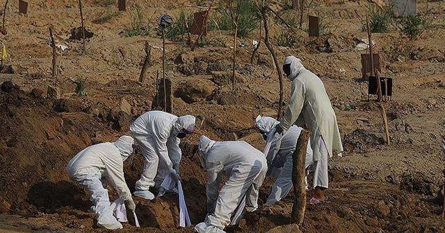 Kovid-19 nedeniyle son 24 saatte Brezilya'da 1214, Meksika'da 665, Hindistan'da 519 kişi öldü