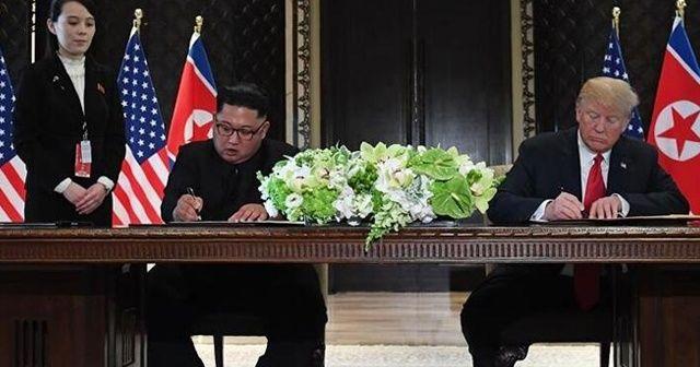 Kuzey Kore liderinin kız kardeşi, Trump-Kim görüşmesinin 'muhtemel' olmadığını açıkladı