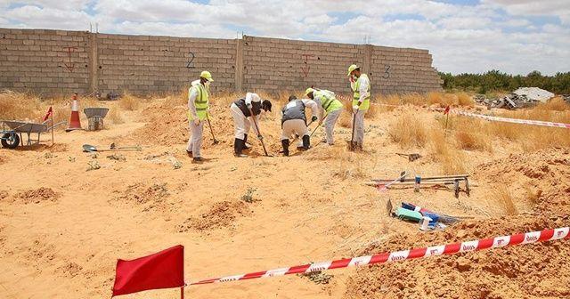 Libya'daki toplu mezarlardan 6 ceset daha çıkarıldı