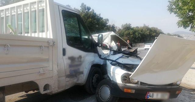 Milas'ta trafik kazası; 1 ölü