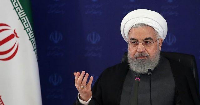 Ruhani: Halk ile rejim arasında tefrika çıkarmak istiyorlar