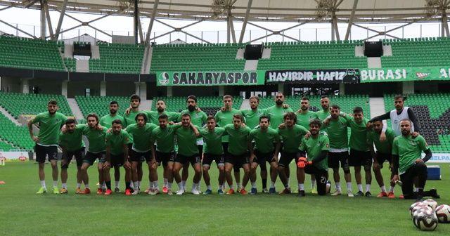 Sakaryaspor, Play-Off öncesi son idmanına çıktı