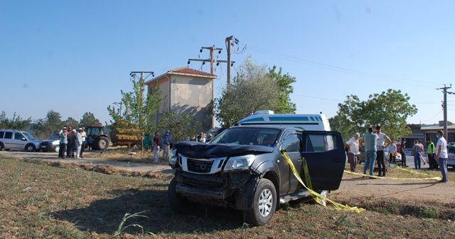 Tekirdağ'da feci kaza: 1 ölü