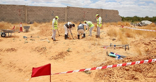 Toplu mezarlarda 6 cansız beden daha bulundu
