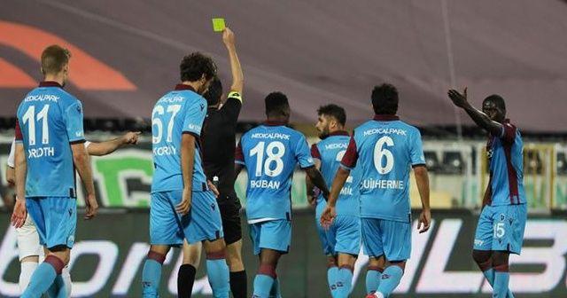 Trabzonspor, Yukatel Denizlispor deplasmanında yenilmezlik serilerini bıraktı
