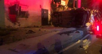 Avrasya Tüneli girişinde meydana gelen trafik kazasında bir kişi yaşamını yitirdi