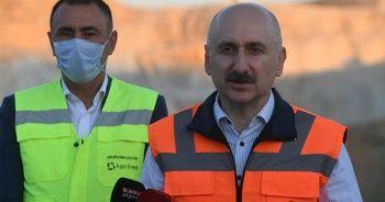 Bakan Karaismailoğlu: '(Ankara-Sivas YHT Hattı) Biz tünelin ucundaki ışığı gördük'