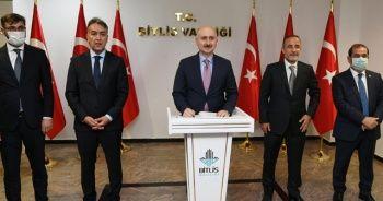 Bakan Karaismailoğlu Bitlis'te