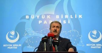BBP Genel Başkanı Destici, Albayrak çiftine yapılan saldırıyı kınadı