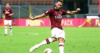 Çalhanoğlu yıldızlaştı, Milan 3 puanı aldı