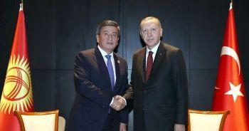 Cumhurbaşkanı Erdoğan, Kırgızistan Cumhurbaşkanı Ceenbekov ile telefonda görüştü