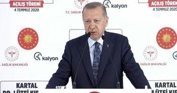 Cumhurbaşkanı Erdoğan: Valimize söyledim, böyle görüntü olursa toplayın götürün