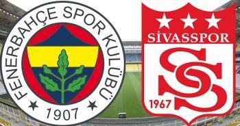 Fenerbahçe- Sivasspor maç özeti golleri