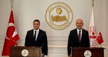İçişleri Bakan Soylu Maltalı mevkidaşı ile görüştü