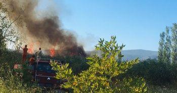 İznik'teki yangın söndürülemiyor