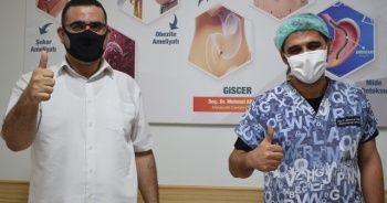 Libyalı genç Gaziantep'te sağlığına kavuştu