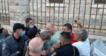 Netanyahu'yu protesto edenlere sert müdahale: 6 yaralı