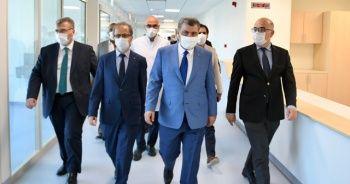 Sağlık Bakanı Koca'dan Göztepe Hastanesi müjdesi