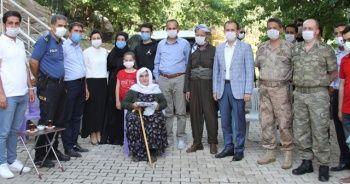 Şemdinli'de şehit ailelerine ziyaret
