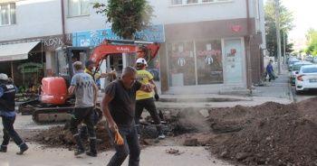 Sivas'ta patlayan doğalgaz borusu paniğe neden oldu