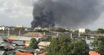 Somali'nin başkenti Mogadişu'da patlama