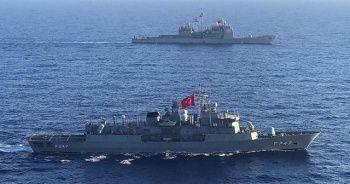 TCG Kemalreis ile ABD Eisenhower Uçak Gemisi Muharebe Grubu deniz eğitimleri icra etti