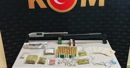 3 ilde eş zamanlı uyuşturucu operasyonu : 9 tutuklama