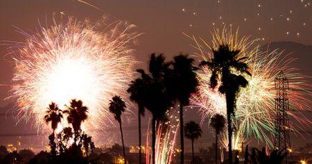"""ABD'de """"4 Temmuz Bağımsızlık Günü"""" havai fişek gösterileriyle kutlandı"""