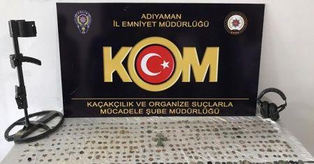 Adıyaman'da tarihi eser operasyonu: 2 gözaltı