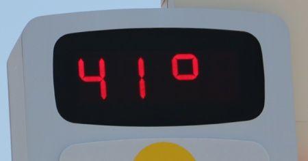 Afrika sıcakları geldi! Termometreler 41 dereceye ulaştı