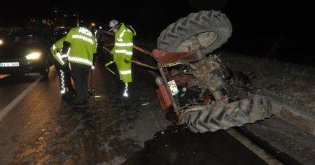 Afyonkarahisar'da feci kaza: 1 kişi ölü