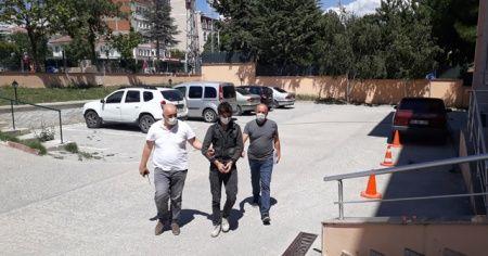 Amasya'da motosiklet çaldı, Tokat'ta yakalandı