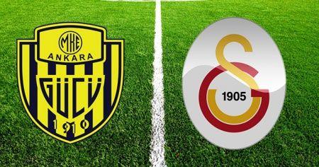 Ankaragücü - Galatasaray maçı İlk 11'ler belli oldu