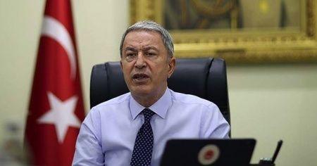 Bakan Akar'dan Ermenistan'a sert tepki