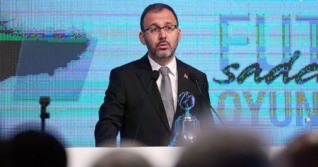Bakan Kasapoğlu'ndan Paralimpik Milli sporculara tebrik