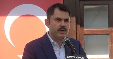 Bakan Kurum: '2023'ün 2071'in güçlü Türkiye'si için çalışacağız'