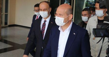 Bakan Soylu başkanlığında Şanlıurfa'da yapılan güvenlik toplantısı sona erdi