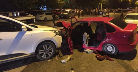 Başkent'te feci kaza: 1 ölü, 5 yaralı