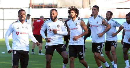 Beşiktaş'ın Fenerbahçe maçı kamp kadrosu belli oldu