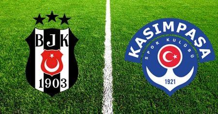 Beşiktaş 3 - Kasımpaşa 2 maç sonucu
