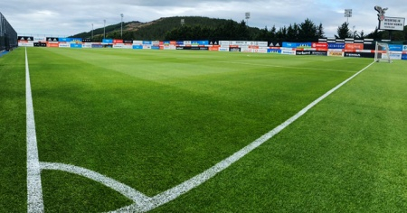 Beşiktaş Nevzat Demir Tesisleri'ndeki antrenman sahası yenilendi